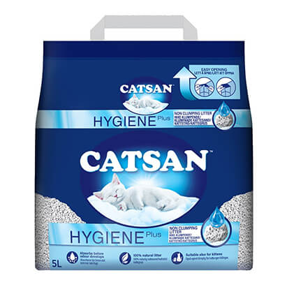 catsan hygiene plus 5L pack