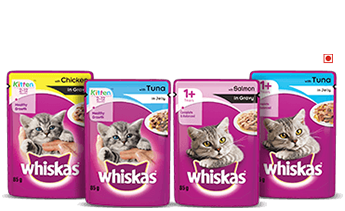 Whsikas Product Pouches for Kittens and 1 Years Plus
